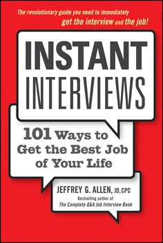 """""""Every page of this exciting new book explodes with theenergy of new ideas. You haven't read these techniques on the Netor anywhere else. Highly recommended!""""—Joyce LainKennedy, America's No. 1 Syndicated Careers Coumist Get all the interviews you want-instantly! It's a jungle out there-a jobjungle. You're crouching-andgrouching-waiting impatiently to attack the next job that appears.You hear a rustle through the trees and hold your breath. Somethingmoves—but before you can pounce, it's ..."""