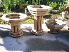 Landscape timber planters