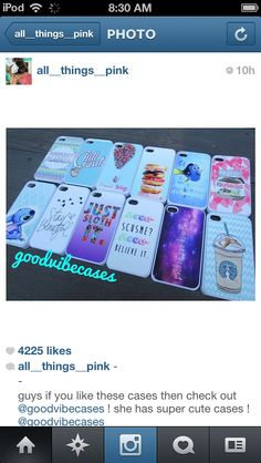 I love these iPhone cases#love#amazing