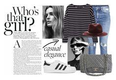 """Fashion Street"" by isabella on Polyvore featuring moda, adidas Originals, H&M, MANGO, Chanel, rag & bone, women's clothing, women's fashion, women e female"