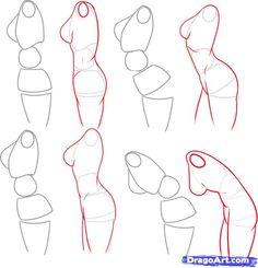 Side of female body