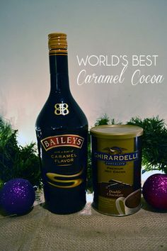 One of the BEST and easiest holiday drinks! LOVE!