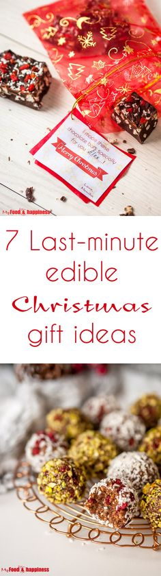 7 last minute edible christmas gift ideas - Vegan Christmas Gifts
