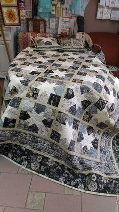 """Купить Лоскутное покрывало """"Аромат сумерек"""" - комбинированный, лоскутное покрывало, лоскутное одеяло, одеяло пэчворк"""