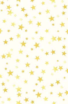 Gold glitter star pattern stars Art Print by Mercedes | Society6
