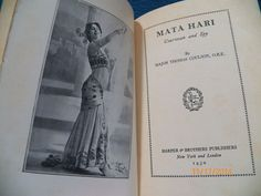 1930 First Edition Mata Hari Courtesan and Spy Major Thomas Coulson, O.B.E.