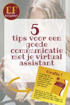 5 tips voor een goede communicatie met je virtual assistant   EF Office Management