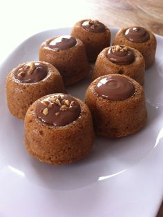 Mini Desserts, Christmas Desserts, Easy Desserts, Best Chocolate Cake, Chocolate Recipes, Baking Recipes, Cake Recipes, Patisserie Fine, Almond Flour Cakes
