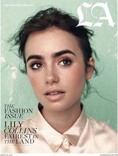 A linda: Lily Collins