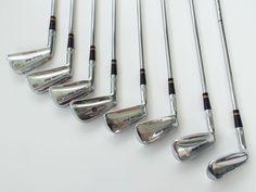 Vintage LH Wilson Staff Dyna Power Golf Irons Fluid Feel 2 - 8 Pitching Wedge #WilsonStaff Golf Irons, Golf Clubs, Wedges, Feelings, Ebay, Vintage, Vintage Comics, Wedge, Primitive