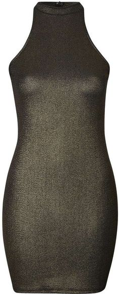 Pin for Later: 44 Alternatives à la Collection Balmain x H&M  Topshop - Robe moulante à encolure montante, Glamorous (29€)