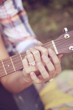 Someday, somewhere, my future husband will propose and then teach me to play guitar.
