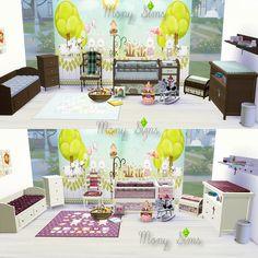 Mony Sims: Download: Nursery Bedroom Conversão TS2 - TS4