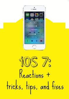 Got iOS 7? Check Out Reactions From Around The Web (and info on some hidden features!)