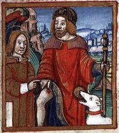 Saint Roch | 17 Completely Absurd Patron Saints That Actually Exist