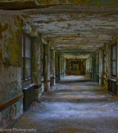 Photo : Hôpital psychiatrique de Trenton, Trenton and Ewing, New Jersey