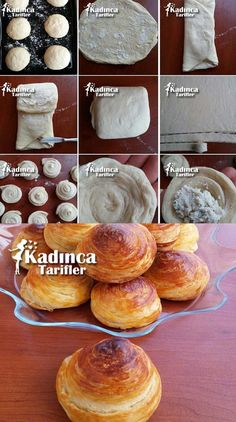 Donut Recipes, Cake Recipes, Bread And Pastries, Pie Dessert, Turkish Recipes, Food Humor, International Recipes, Cakes And More, No Bake Desserts