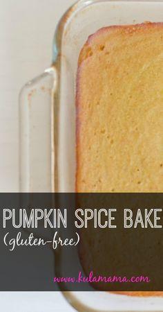 Pumpkin Spice Bake