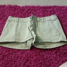 Kaki Shorts button pocket Mossimo Supply Co. Shorts