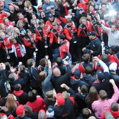 Aaron Murray's LAST Dawg Walk On 11-23-13 -- Murray is a Senior this year. I was there love it he touched me!