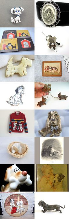 And They Call It Puppy Love by Anita on Etsy--Pinned with TreasuryPin.com