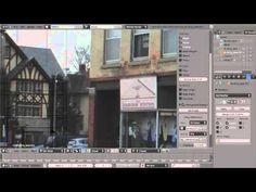 Modeling a building in Blender - YouTube