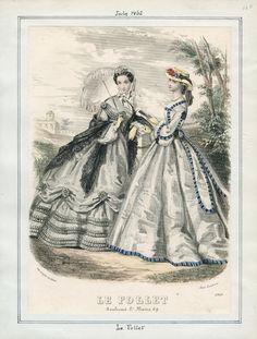 Le Follet, July 1862