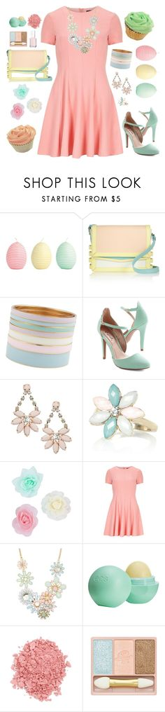 """""""Happy Easter!"""" by jawesome1997 ❤ liked on Polyvore featuring GreenGate, Christian Louboutin, ALDO, Miss Selfridge, River Island, MOOD, Dorothy Perkins, Topshop, TheBalm and Paul & Joe"""