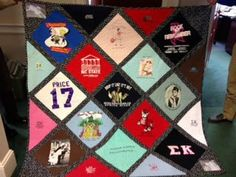Keep the Memories Alive Custom TShirt Quilt by KalinkiKreations