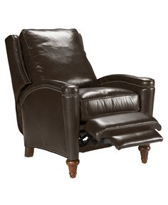 Rutherford Leather Recliner Chair - Recliners - furniture - Macy's