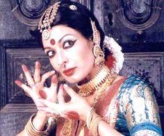 Mallika Sarabhai - Kuchipudi and Bharatanatyam dancer. Great dancer