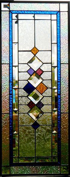 Panel de la ventana de vidrio de color Retro II