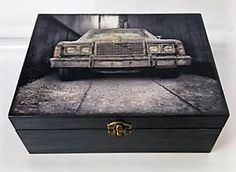 #homedecor #diy #handmade #madeinhome  #projects #gifts #storage   #decoupage #wood #old #retro #vintage #car