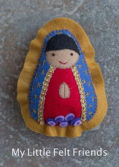 Our lady of guadalupe felt saint softie by saintlysilver on etsy nuestra seora de guadalupe fieltro saint mueca catlicos juguetes mueca de fieltro pascua cesta cumpleaos baby shower bautismo catholic giftsfelt negle Choice Image