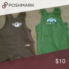 Lot of 2 boys overalls Carter's 12m Lot of 2 boys overalls. Size 12 m. Carter's. Euc. Carter's Matching Sets