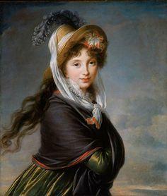 Vigée Lebrun Portrait of Young Woman - Elisabeth Vigée-Lebrun - Wikimedia Commons