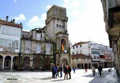 PORRIÑO (Pontevedra) Praza do Concello