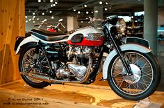 Triumph motorcycle from the Barber Motorsport Museum in Birmingham, Alabama