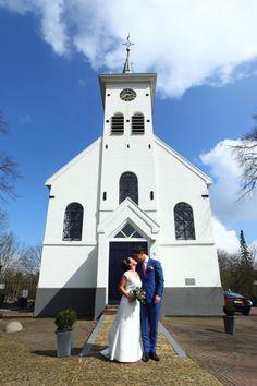 Huwelijksceremonie in de Schellingerwouder Kerk te Amsterdam