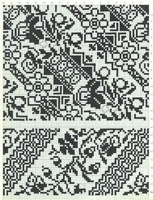 "Photo from album ""Сокальська вишивка"" on Yandex. Cross Stitch Borders, Monochrome, Embroidery, Pattern, Ukraine, Desk, Album, Craft, Knits"