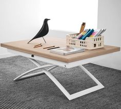 Magic-J Extendable Table by Calligaris- Natural