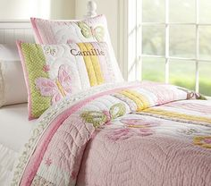 Pottery Barn Kids Camille butterfly twin quilt - Google Search