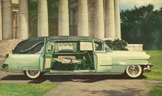 1954 Cadillac hearse