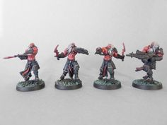 Corvus Belli Infinity Combined Army Daturazi Witch Soldiers