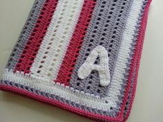 Looking for crocheting project inspiration? Check out Monogrammed Baby Blanket by member Poochie Baby.