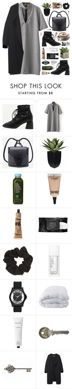 """""""SheIn"""" by novalikarida ❤ liked on Polyvore featuring Kale, MAC Cosmetics, Aesop, Kat Von D, Topshop, NARS Cosmetics, Marc by Marc Jacobs, Soft-Tex, Rodin Olio Lusso and WALL"""
