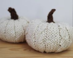 Chic Little Pumpkins Knitting pattern by Rachel Borello Carroll