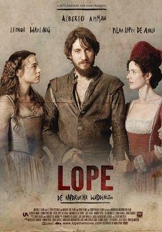 """""""Lope"""" es un drama dirigido por Andrucha Waddington estrenado el 3 de septiembre de 2010. Está protagonizado por Alberto Ammann e inspirado en la juventud de Lope de Vega. Figurinista: Tatiana Hernández"""