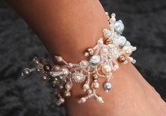 """Coral Drops"" bracelet by Svetlana  Master class in a coral bracelet weaving technique"