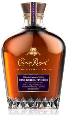 Crown Royal adds a Wine Barrel finished whisky to its Noble Collection. Crown Royal Drinks, Crown Royal Whiskey, Toddy Recipe, Whiskey Cocktails, Bourbon Drinks, Scotch Whiskey, Irish Whiskey, Rye Whiskey, Alcohol Drink Recipes